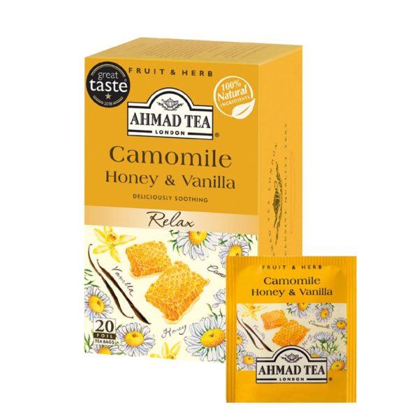 Infuso Camomilla, Miele e Vaniglia filtro | Infuso Camomilla, Miele e Vaniglia filtro