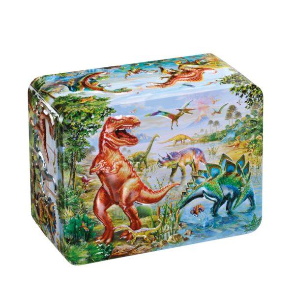 Lattina Dinosauri con Caramelle   Lattina Dinosauri con Caramelle