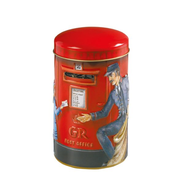 Salvadanaio Post Box con Toffee | Salvadanaio Post Box con Toffee