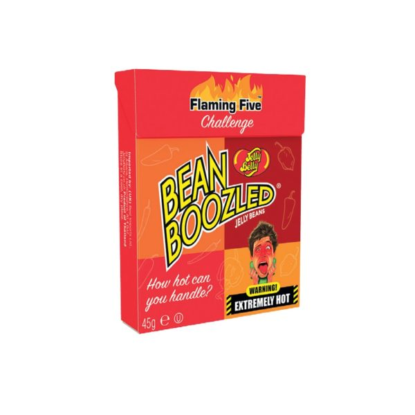 Jelly Belly Beanboozled Flaming Five (caramelle piccanti) Astuccio | Jelly Belly Beanboozled Flaming Five (caramelle piccanti) Astuccio