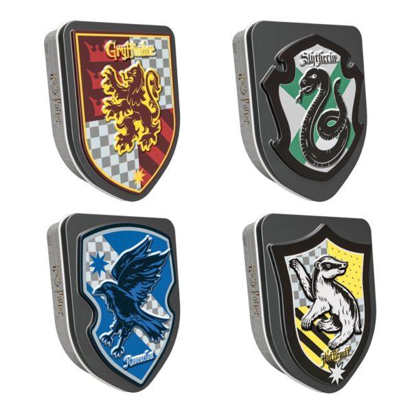 Jelly Belly Harry Potter Stemmi di Hogwarts lattina | Jelly Belly Harry Potter Stemmi di Hogwarts lattina