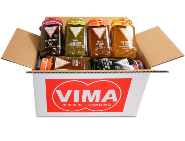 JAMS & MARMALADES BOX Small (totale 6 prodotti - illustrazione esemplificativa - il contenuto può variare a seconda della disponibilità) | JAMS & MARMALADES BOX Small (totale 6 prodotti - illustrazione esemplificativa - il contenuto può variare a seconda della disponibilità)