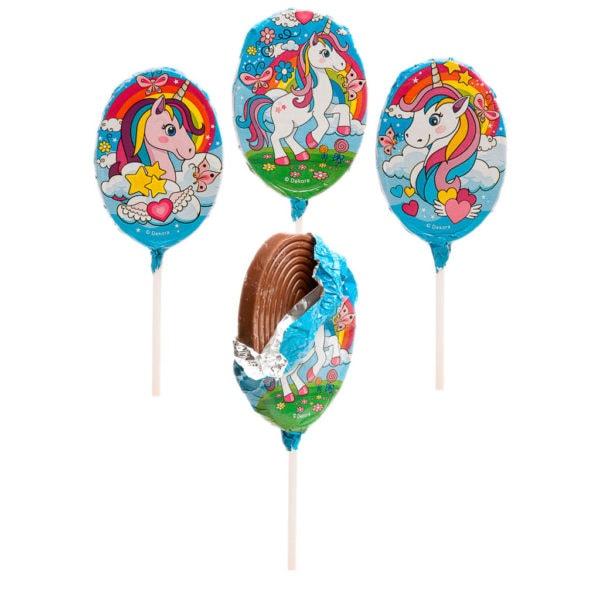 Unicorno Choco Mallow Lecca Lecca | Unicorno Choco Mallow Lecca Lecca