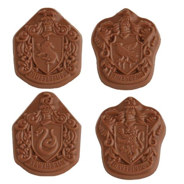 Stemmi Di Hogwarts Di Cioccolato   Stemmi Di Hogwarts Di Cioccolato